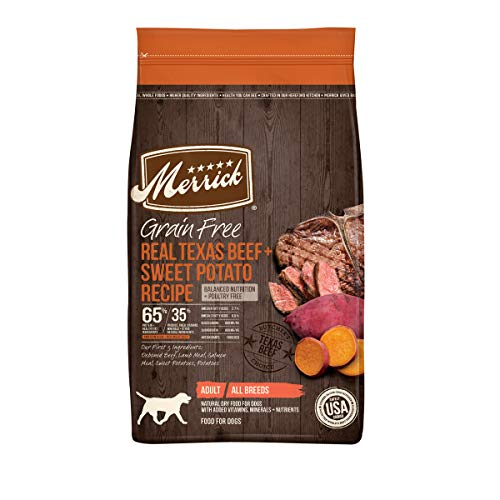 Merrick Grain Free Dry Dog Food Real Texas...