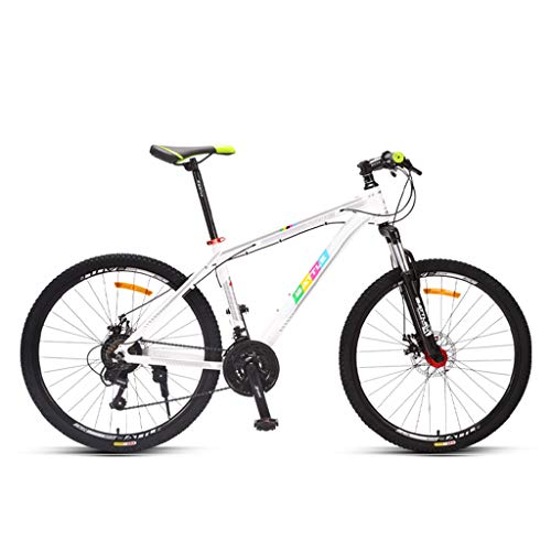 Mountain Bike Off-Road, 26-inch 27-Speed, Non-Slip Full Suspension Gear Bike for Adults and Teenagers GH