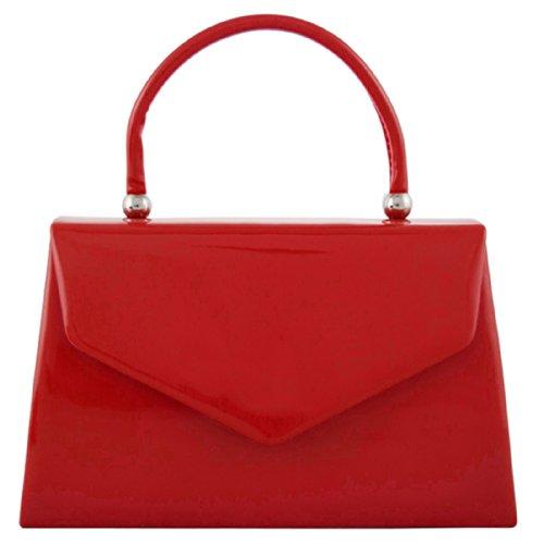 fi9® , Damen Clutch Rot rot