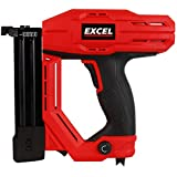 Excel 2-in-1 Electric Stapler Nailer Gun 15-32mm 18 Gauge Heavy Duty 230V