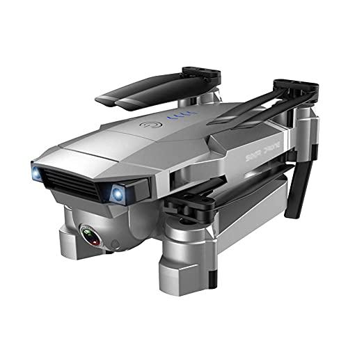 HJRBM Drone 4K con Fotocamera UHD per Adulti, quadricottero GPS Facile per Principianti con Tempo di Volo di 18 Minuti, Ritorno Automatico a casa, seguimi, Posizionamento della Luce, 3 batterie