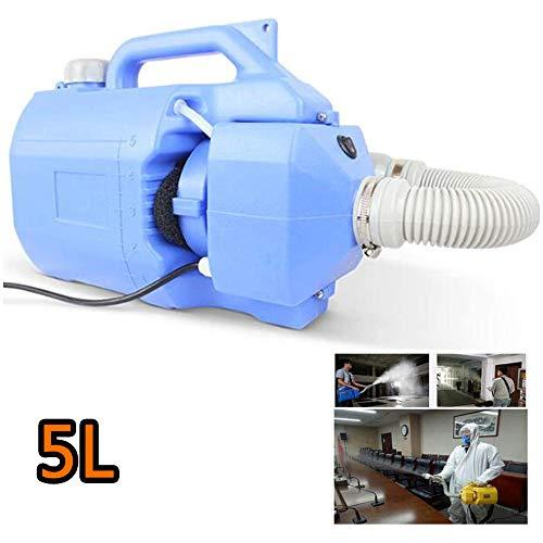 YC° Tragbare 5L Elektrische Atomisierung Desinfektion Maschine - Umwelt Sterilisation Sprayer - Luftreiniger, Einstellbare Nebel Volume 650ml / min,Blau