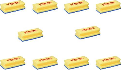 Vileda 235700 - Reinigungsschwamm blau - 10 Stück