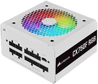 Corsair CX-F RGB Series CX750F RGB 80 PLUS Bronze Fully Modular ATX Power Supply - White
