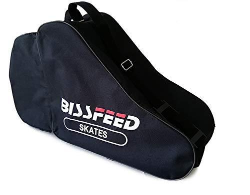 borsa standard per pattini a rotelle, per adulti e bambini, grande borsa per il trasporto di pattini in linea, scarpe da sci, borsa a tracolla, borsa da spiaggia, in tessuto Oxford 600D, impermeabile