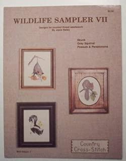 Wildlife Sampler VII Craft Book (Skunk, Gray Squirrel, Possum & Persimmons)
