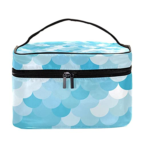 Happy Children's Day - Neceser impermeable para niñas con cremallera (22,5 x 15 x 13,8 cm, bolsa de cosméticos para mujeres y niñas