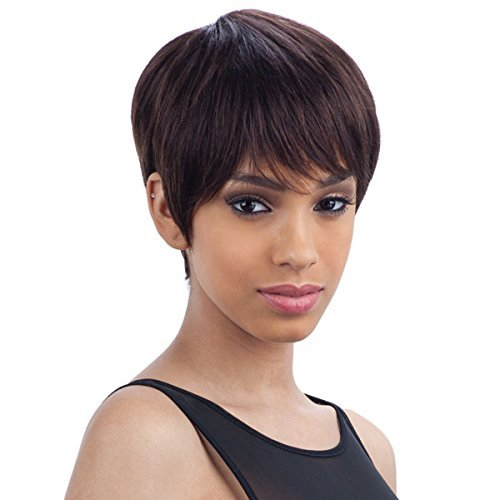 PINK BERRY (1B Off Black) - MilkyWay Brazilian Remy 100% Human Hair Wig