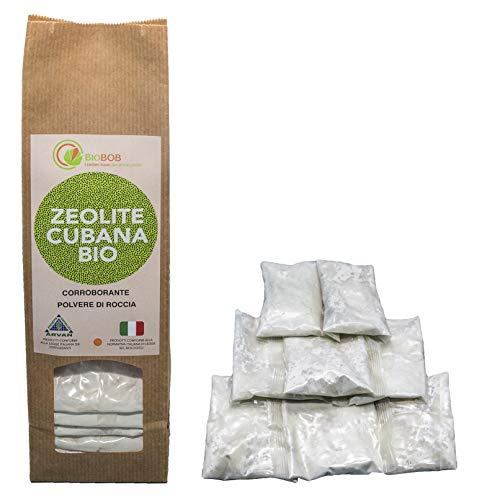 BIOBOB Zeolita Cubana Pura - para la Agricultura Orgánica - para el Control Biológico de mohos e insectos – de fácil utilización, lista para el uso - Producto concentrado, permite ahorrar espacio