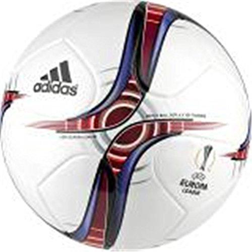 adidas Uel Top Trainin, Pallone da Calcio Uomo, Bianco, 5