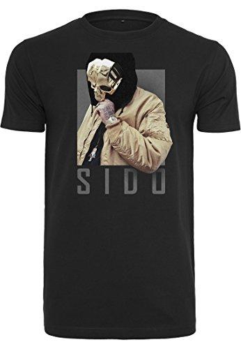 MERCHCODE Herren Sido Geuner Tee T-Shirt, Black, XS
