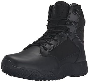womens black work boots