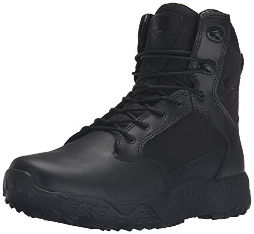 Under Armour Womens Stellar Military and Tactical Boot, Black (001)/Black, 9