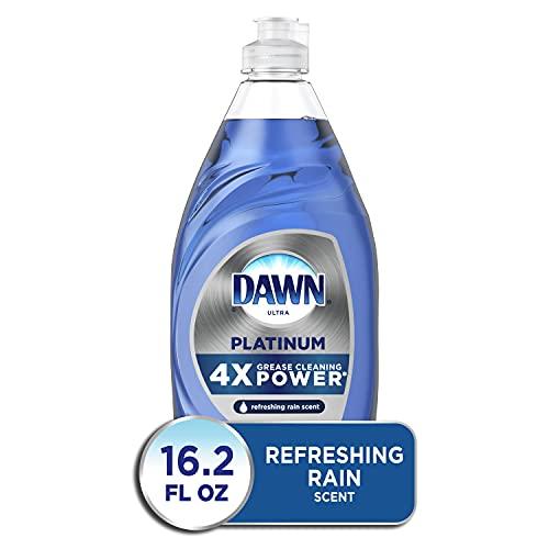 Dawn Platinum Dishwashing Liquid Dish Soap, Refreshing Rain, 16.2 Fl Oz