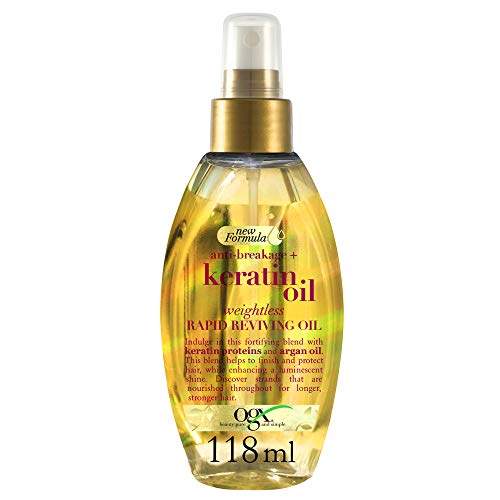 OGX Anti-Breakage Keratin Oil Weightless Rapid Reviving Haaröl, 118 ml
