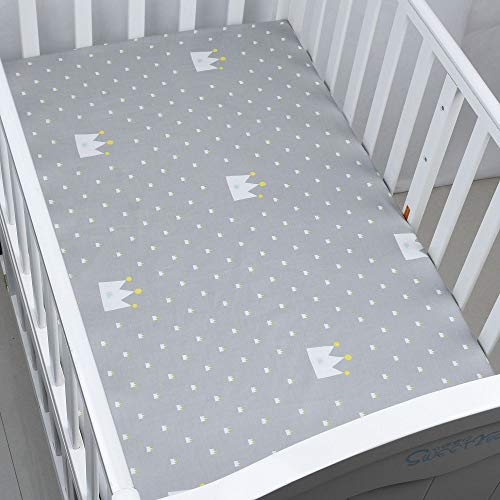 100/% pur coton-Doux Jersey Drap-Cot Bloomsbury Mill-Twin Pack