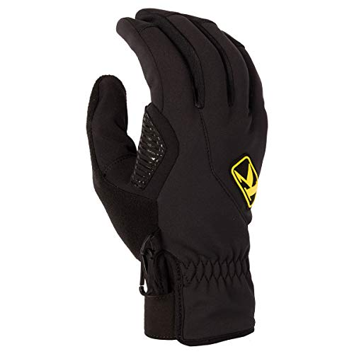 KLIM Inversion Men's Ski Snowmobile Gloves - Black/Large