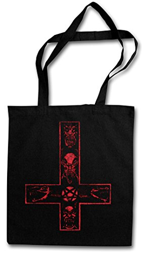 SATANIC CROSS HIPSTER BAG – diablo cruz satánico saturnismo Aleister Pentagram Religion 666 Devil Crowley Satanism Pentacle Symbol Inverted Lucifer Church Demon The Beast