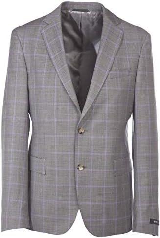 BOSS Reid Blazer in Grey Lilac Check