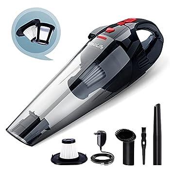 VacLife Handheld Vacuum Cyclone Hand Vacuum Cleaner Cordless for Car & Home Model  H-111 Red  VL706