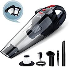 VacLife Handheld Vacuum, Cyclone Hand Vacuum Cleaner Cordless for Car & Home, Model: H-111, Red (VL706)