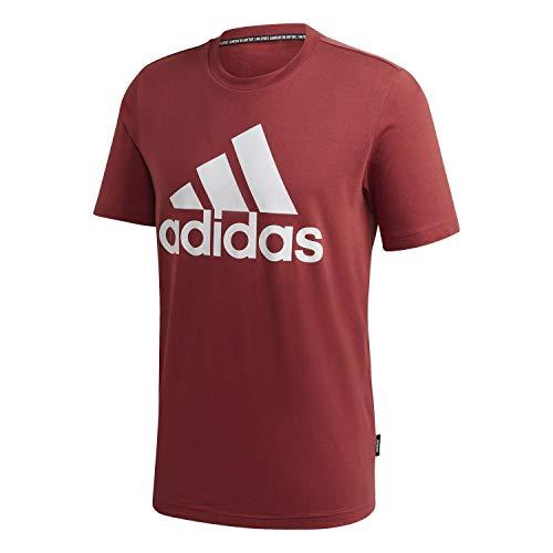 adidas Herren Mh Bos T Legred T-Shirt, Legacy-Rot, M