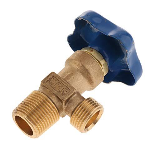 perfk Universal Regulierventil Gasflaschenventil Gasdruckregler für Argon