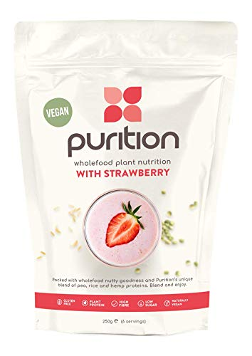 Wholefood Plant Nutrition with Strawberry 250g