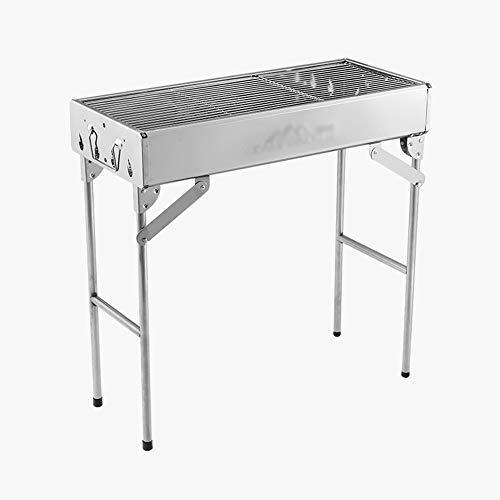 Usage Domestique de Grille de Barbecue en Acier Inoxydable pour Grille de Barbecue à Charbon de Bois extérieur 5 Personnes ou Plus GW