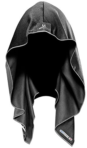 Mission Enduracool Techknit Cooling Hoodie, Black