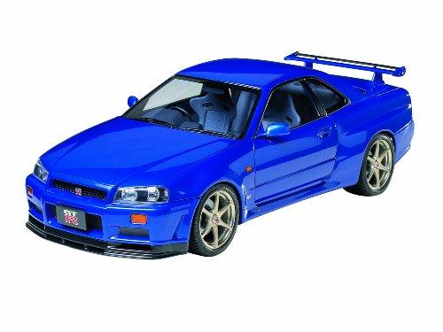 タミヤ 1/24 スポーツカーシリーズ No.210 ニッサン スカイライン GT-R Vスペック R34 プラモデル 24210