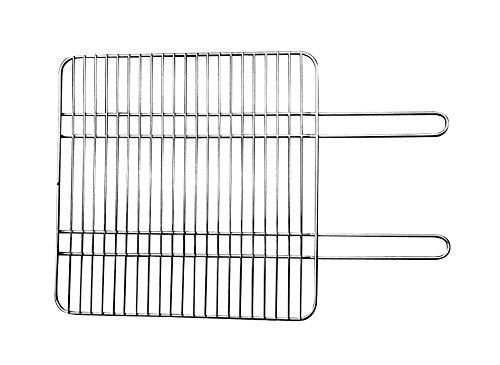 Edelstahl Grillrost für Grillkamin Landau (für Grilleinsatz) 45x46cm / Wellfire