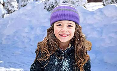 Includes Warm Hat All Fingers Gloves and Warm Circle Neck Gloves Sets Go Mai Kids Winter Knitted Hats+Scarf