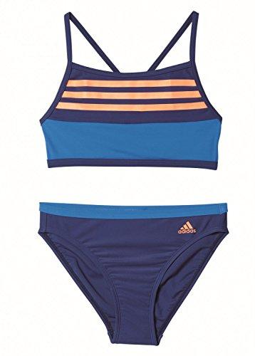 adidas by 3S Cb Bikini für Mädchen, Blau (Azumis/Blau/Narbri), 128