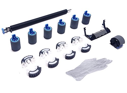 Altru Print 4000-RK17-AP Deluxe Roller Kit for HP Laserjet 4000, 4050 & Canon LBP1760, P370 (110V) with Transfer Roller, Tray 1 Roller Kit, Tray 2-4 Feed/Separation Rollers & Tray 2/3 Pickup Rollers