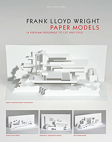 Frank Lloyd Wright Paper Models: 14 Kirigami Buildings to Cut and Fold (paper folding, origami)