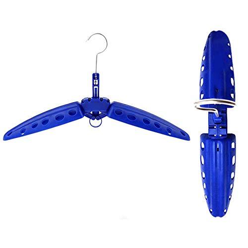 Magiin Suspensión Plegable de Traje de Neopreno Percha Multifuncional Ventiladas de Secado Rapido Natación Traje Colgador