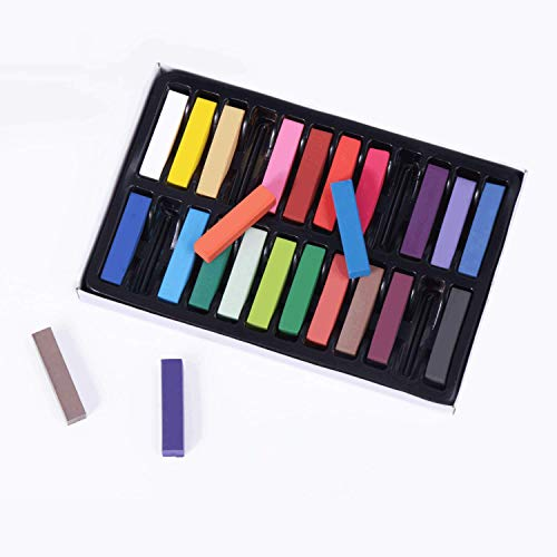 Hair Chalk, Hair Chalk Pens,Temporary Hair Chalk Set, Non-Toxic and Washable Safe For Kids And Teen...