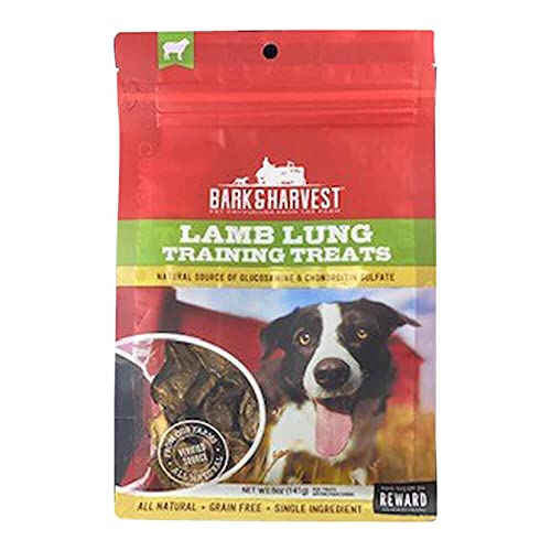 Superior Farms Pet Provisions Lamb Lung Dog Treats   All Natural Dog Snacks from Our Farms   Real Protein Dog Chews   100% Lamb. (Lung Training (5 oz.))