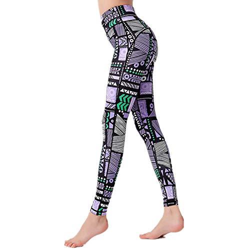 NIGHTMARE Leggings para Correr de Camuflaje para Mujer con Control de Abdomen, Entrenamiento de Gimnasio, Pantalones de Yoga de Cintura Alta, Mallas para Correr de Yoga para Mujeres M