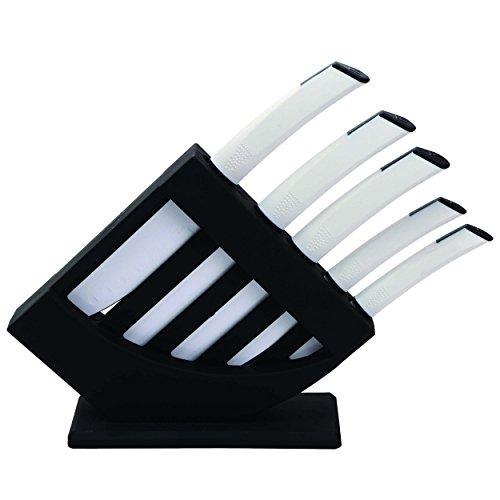 Bergner Ultra Non-Stick Set de 5 Cuchillos + Tacoma, Acero...