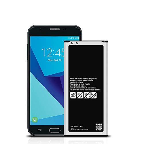 Galaxy J7 Replacement Battery for Samsung Galaxy J7 Prime SM-J727T1, J7 Prime SM-J727T, Halo SM-J727AZ, J7 V SM-J727V, J7 POP(2017) SM-J727U EB-BJ710CBE