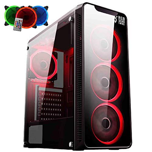 PC Gamer EasyPC FirstBlood AMD Ryzen 3 2200G 3.7Ghz (Radeon RX Vega) 8GB DDR4 500GB HDMI 500W