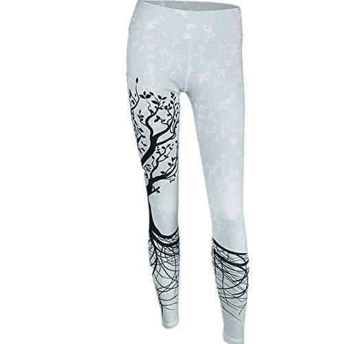 Discount Boutique Frauen Yoga Leggings Stärke Baum Druckmuster Laufen Hosen Schlank Bauch Kontrolle Sport Übung Strumpfhosen