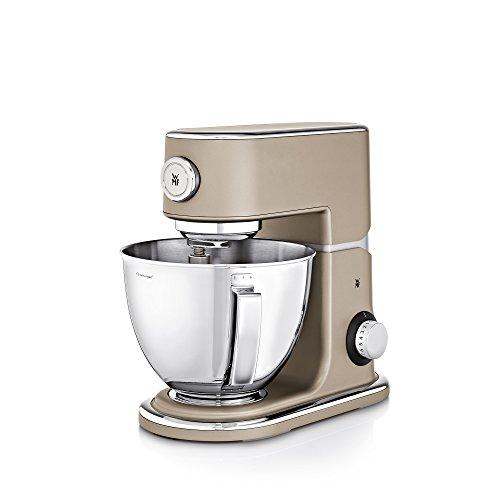 WMF Profi Plus Küchenmaschine, 1000 W, Cromargan-Rührschüssel 5 l, planetarisches Rührwerk, 8 Geschwindigkeitsstufen, platin bronze