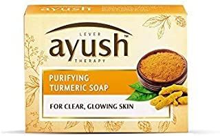 Lever Ayush Purifying Turmeric Soap, 100 gm