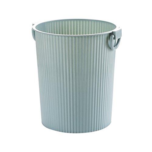 Bacs à ordures extérieurs fuckluy Le salon côté poubelle home et il n'est pas couvrir grande chambre cuisine wc corbeille panier en plastique, 27*29cm bleu
