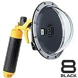 SOONSUN Dome Port for GoPro Hero 8 Black Camera, 6 Inch Snorkeling Underwater...
