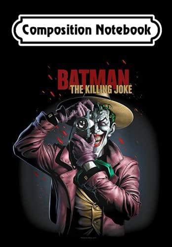 Composition Notebook: Batman Killing Joke Camera, Journal 6 x 9, 100 Page Blank Lined Paperback Journal/Notebook