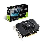 ASUS GeForce GTX 1650 グラフィクスボード OC/4G/DDR6/補助電源 (PH-GTX1650-O4GD6-P)